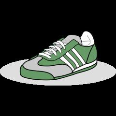 Scribble Schuh